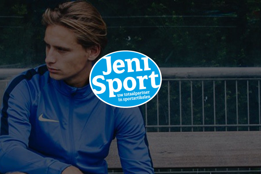 online marketing Jeni sport sportkleding